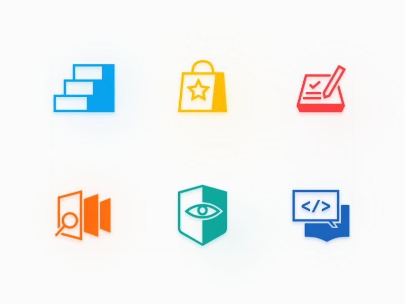 ICON 1223 #color logo vector icon