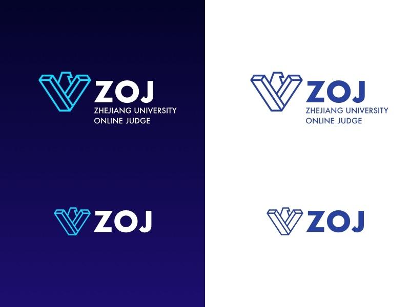 Zhejiang University Online Judge - rebranding #2 online judge rebranding zhejiang university vector icon logo branding