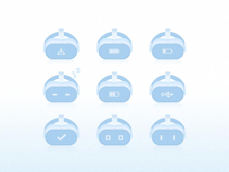 ICONS 0313 hmd vr illustration icon