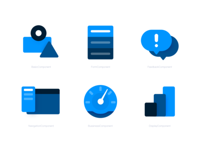 Some icons for a component library 1023