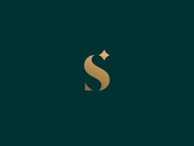 S star monogram branding identity logo