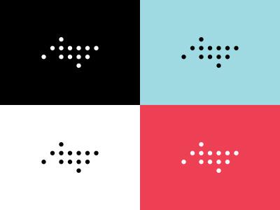 Unused circles wordark logo