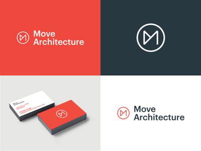 MA identity architecture monogram logo