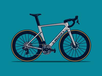 S-Works Venge Road Bicycle Illustration