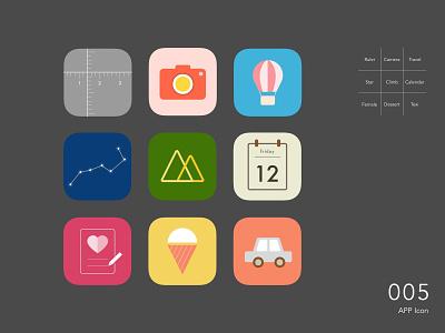 Daily UI _ 005 App Icon icon app design ui