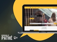 Working at Pathé - Website live!!