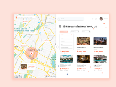 Booking hotel app
