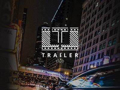Trailer Club type logo movie trailer movie