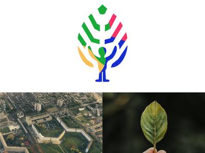Logodesign GroenplatVorm Zuidoost logodesign