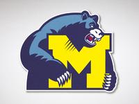 Mohawke Blue Bears Logo