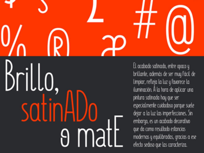 Satinado - A Modern Sans Serif Font design fontself design myfonts satinado fontself typeface fonts font