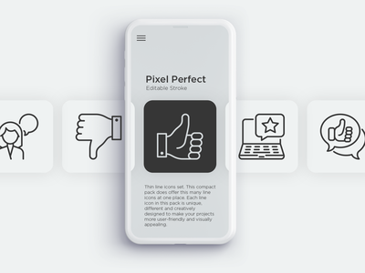 Testimonials | 20 Pixel Perfect & Editable Stroke Thin Line Icon positive loyalty consumer relationship client review feedback experience rating testimonial logo sign design symbol thin set line illustration vector icon