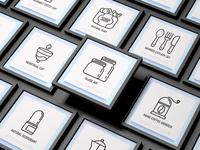 Zero Waste | 16 Thin Line Icons Set