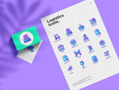 Logistics | 16 Thin Line Icons Set belt conveyor express service transportation loading transport distribution tracking export delivering package shipment logistics thin symbol set line illustration vector icon