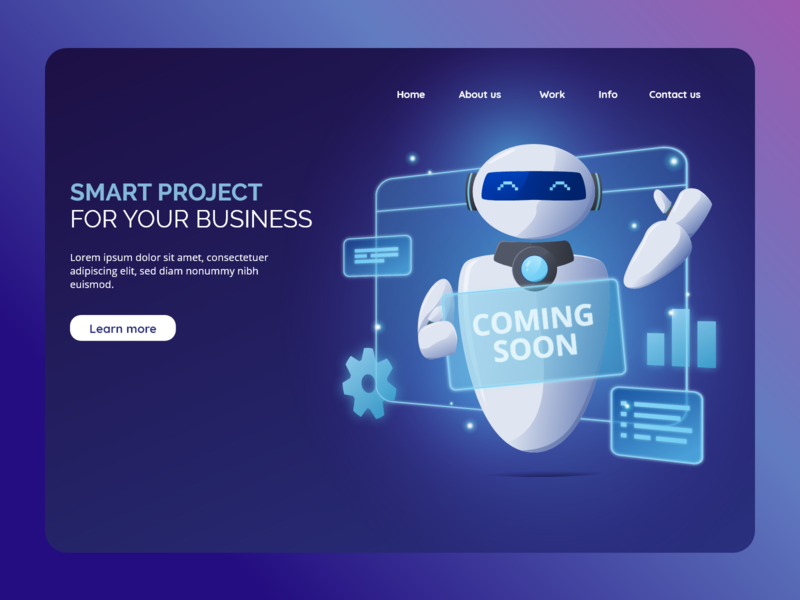 Smart Project for your Business design template