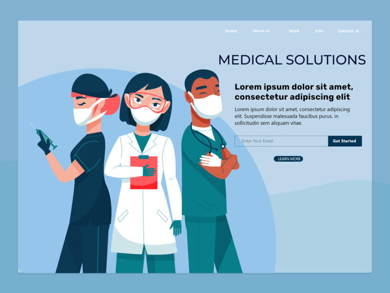 MEDICAL SOLUTION PROVIDER LANDING PAGE landingpage
