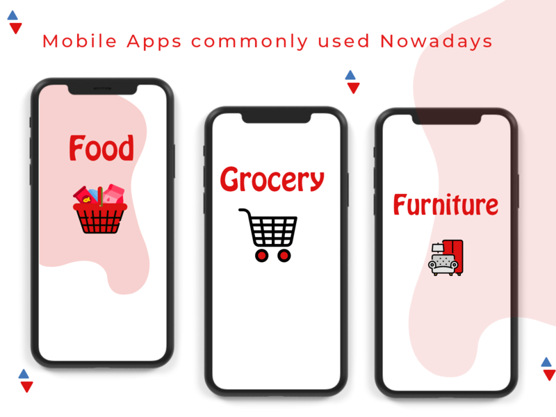 MOST COMMONLY MOBILE APPS ui