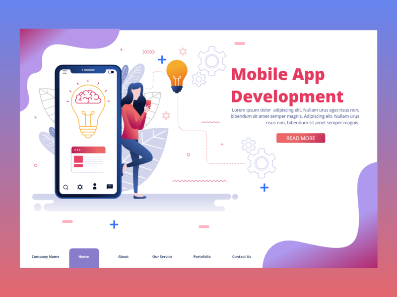 WE  DEAL IN MOBILE APP DEVELOPMENT mobile app development