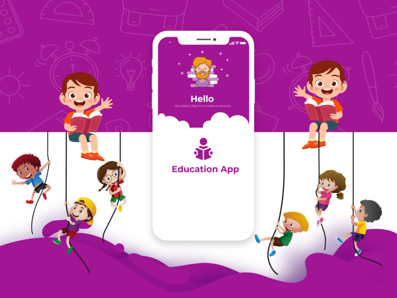 EDUCATION THEME APP kids app education app