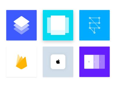 Framer Resources tile framerjs framer website resources cards shadow tiles illustration pages visual