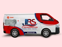 JT Refrigeration Van Wrap