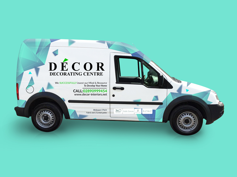 Decor Van Wrap decorating printing decorating center decor car wrap van cover illustration van wrap van design car