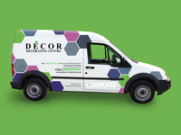 Decorating Center Van Wrap