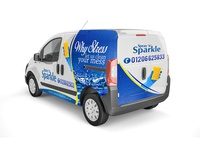 Why Stress Let US Clean Your Mess Van Wrap