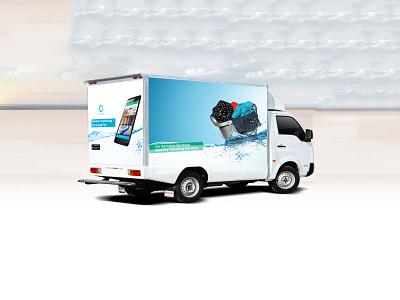 Dry Cleaning Services cleaning dry services van illustration van wrap van cover van design car wrap car