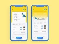 Booking Flight Ticket Ui