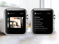 Apple TV Apple Watch Concept