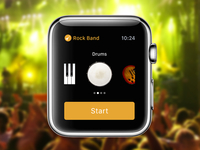 Apple Watch Rock Band Concept