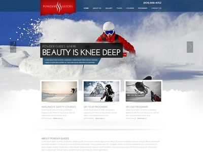 Powder Guides Website