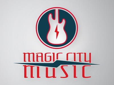 Magic City Music music electric guitar brand logo