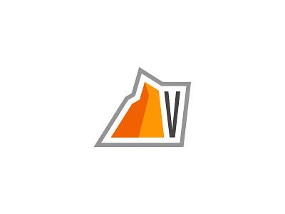 Virtuosity Mark mountain brand mark logo