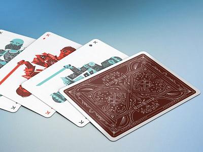 Spreads like Butter linework kings kickstarter cards spread