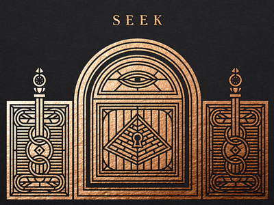Seek game mystic lock door pyramid gate