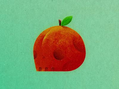 Creative South fruit plant south creative skull peach