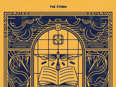 The Storm star bird ex libres book clouds storm