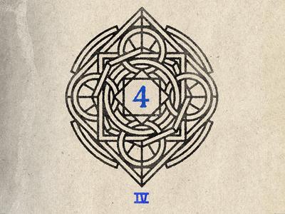 IV - Marker rings line four game marker