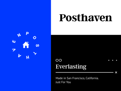 Posthaven home infinite elements tangents identity brand