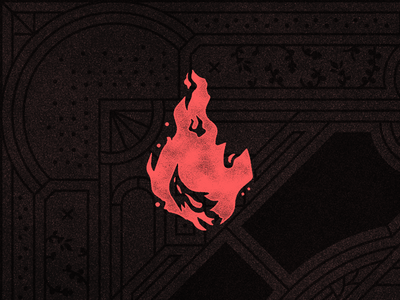 Elemental brush game elements fire