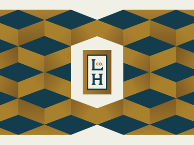 LHco badge pattern branding