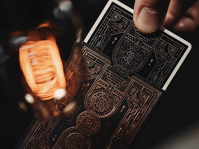 Dark Edition blockchain deck packaging world key playing cards bitcoin