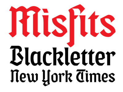 Misfits Blackletter