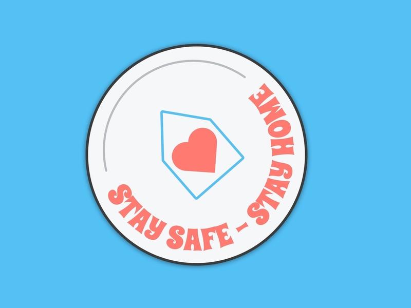 Stay safe stay home typography visual design concept illustration design ui sketch nhs stayhome staysafe