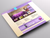 Fresh and clean homepage
