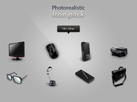 Photorealistic icon pack