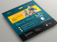 Consulting service landing page