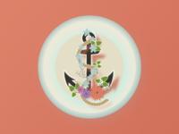 Flower anchor